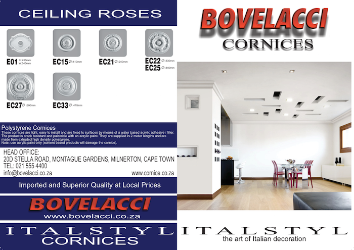 Bovelacci Product Brochure For Download.